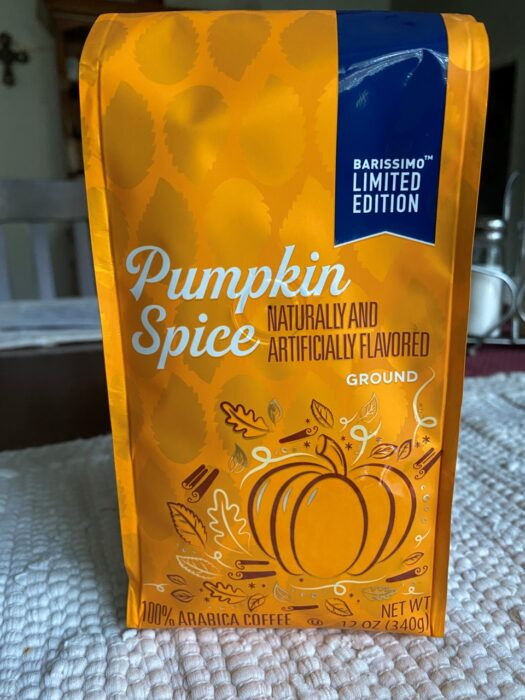 Barissimo's Seasonal Blend Pumpkin Spice Ground Coffee 1