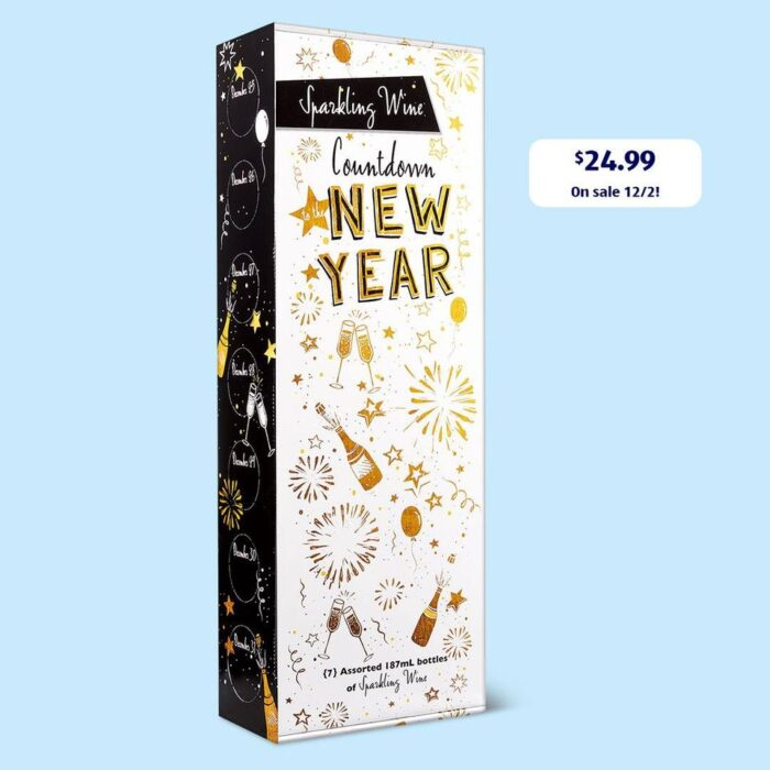 Countdown New Year Sparkling Wine