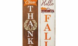 Huntington Home Fall Reversible Porch Sign
