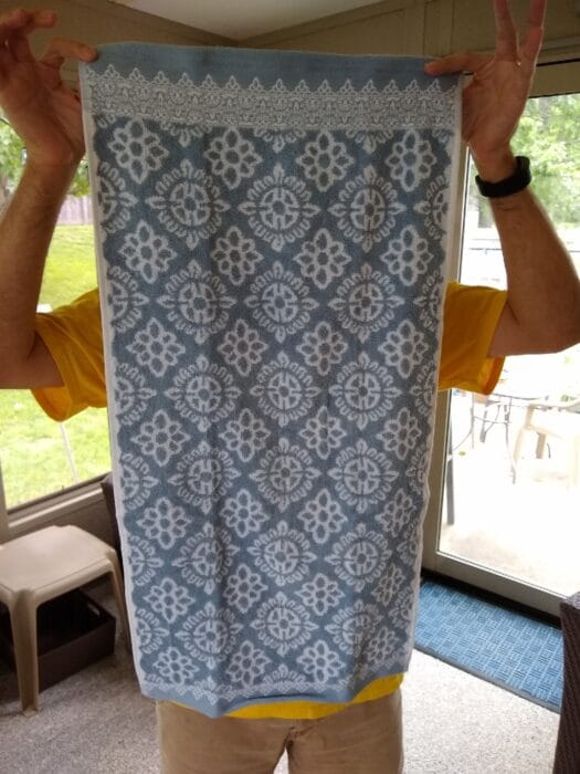 Huntington Home Bath Towel + Huntington Home Hand Towel And Washcloth