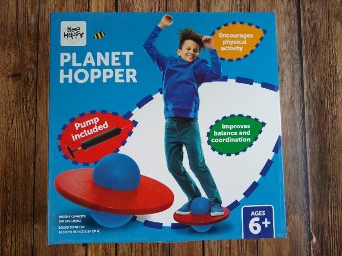 Bee Happy Planet Hopper