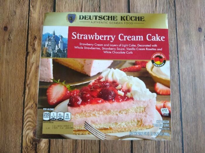 Deutsche Kuche Strawberry Cream Cake