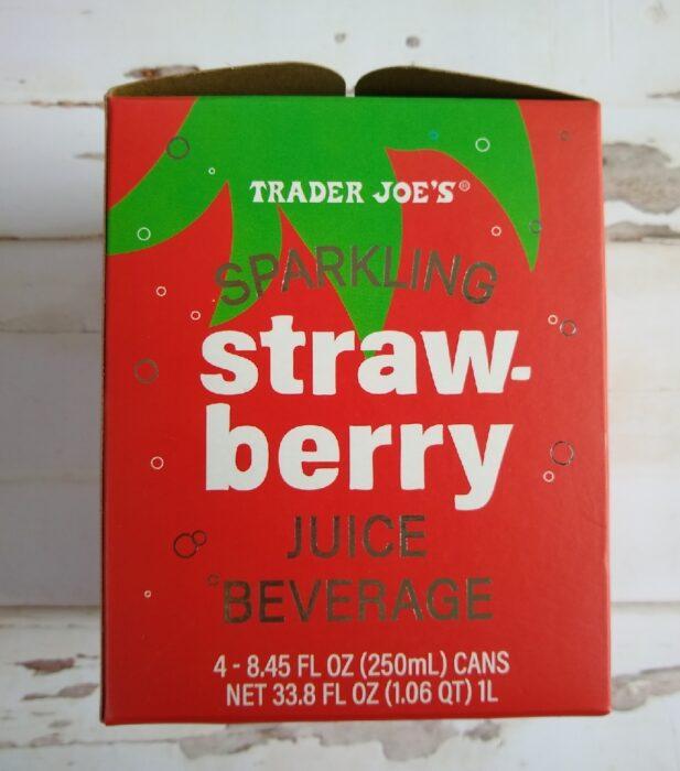 Trader Joe's Sparkling Strawberry Juice Beverage