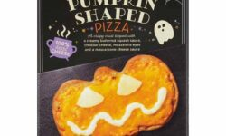 Mama Cozzi's Pizza Kitchen Halloween Pumpkin-Shaped Pizza