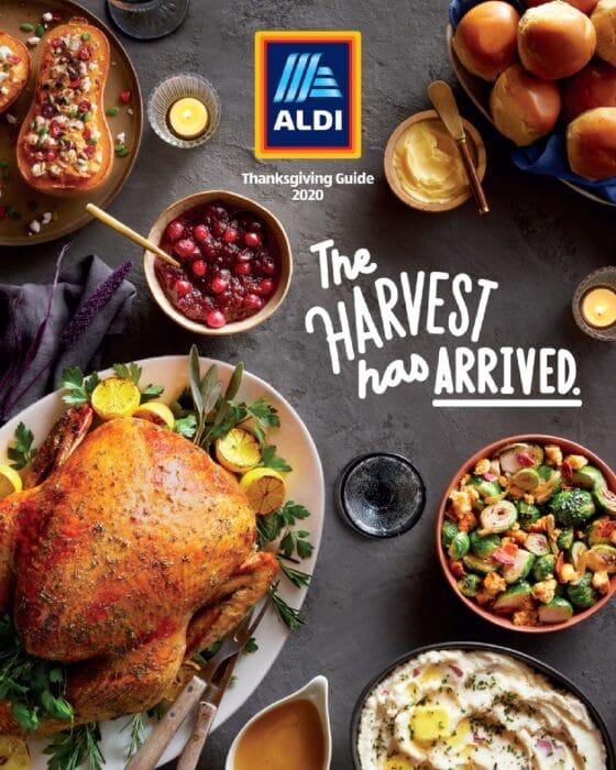 Aldi Thanksgiving Guide 2020