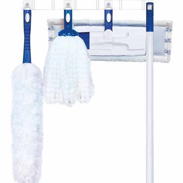 Easy Home 4-in-1 Snap-In Cleaning Kit & Storage System