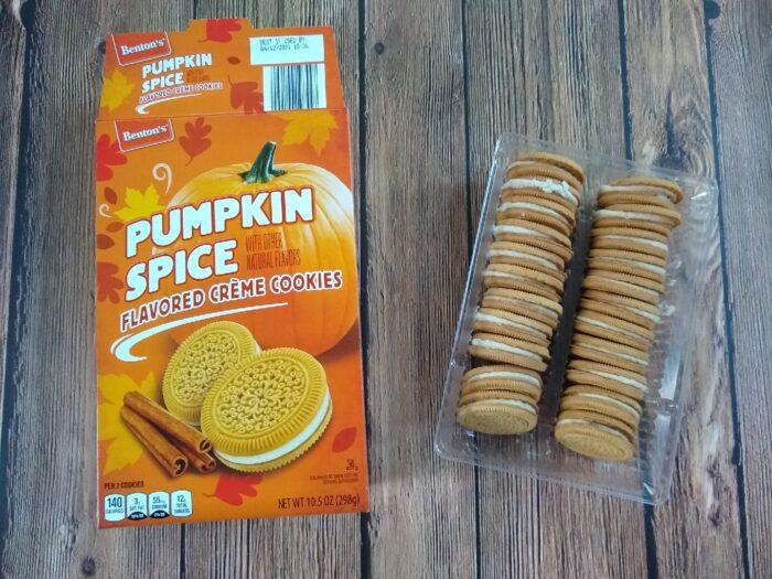 Benton's Pumpkin Spice Flavored Creme Cookies