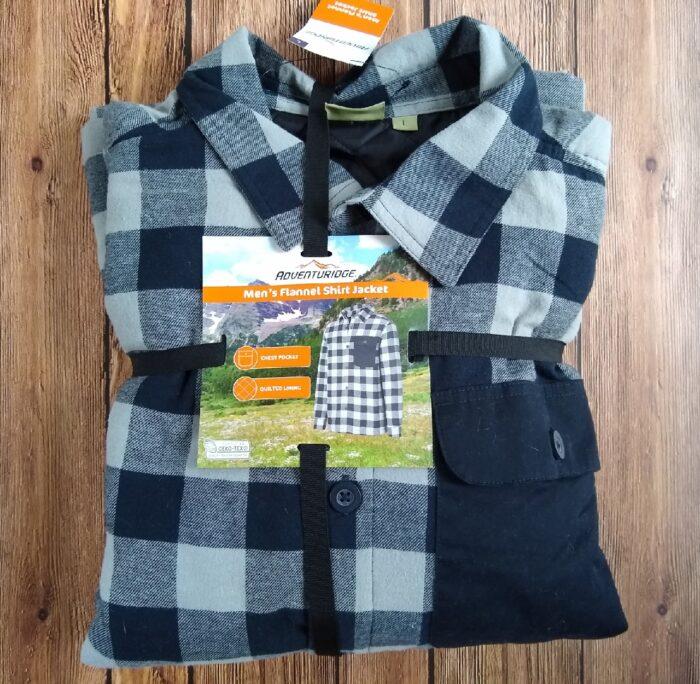 Adventuridge Men's Flannel Shirt Jacket
