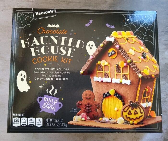 Benton's Chocolate Haunted House Cookie Kit