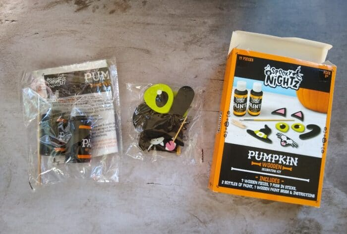 Spooky Nightz Pumpkin Decorating Kit