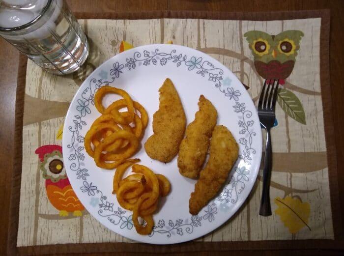 Kirkwood Parmesan and Herb Encrusted Chicken Tenders