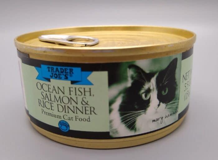 Trader Joe's Ocean Fish, Salmon and Rice Dinner Premium Cat Food