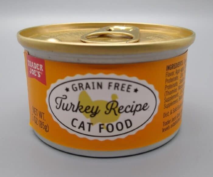Trader Joe's Grain Free Turkey Recipe Cat Food