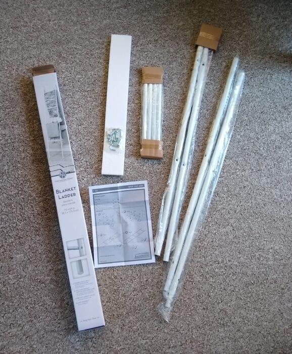 Huntington Home Blanket Ladder