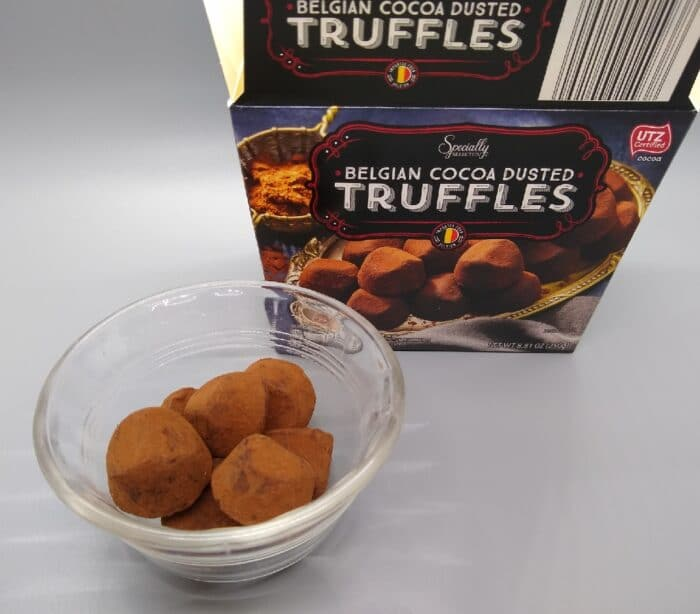 Specially Selected Belgian Cocoa Dusted Truffles