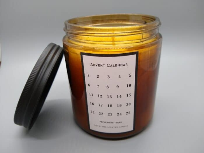 Huntington Home Advent Calendar Candle