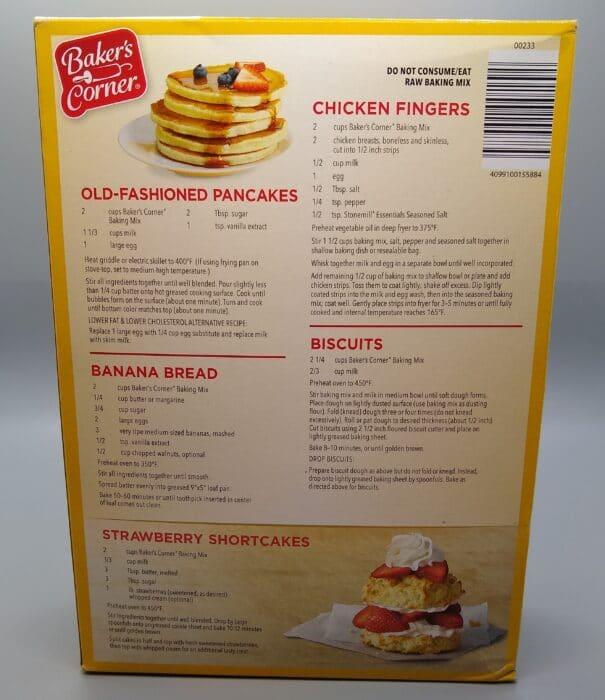 Baker's Corner All Purpose Baking Mix