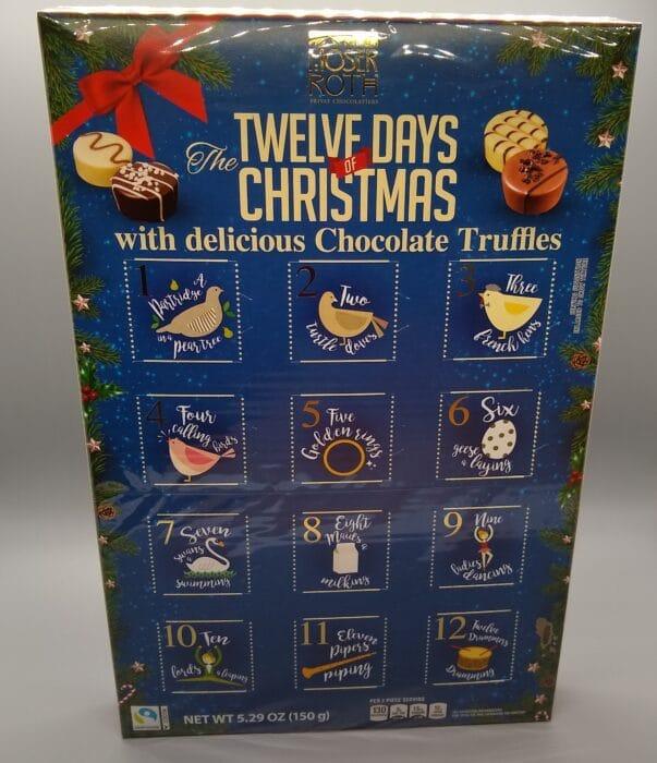 Moser-Roth Twelve Days of Christmas Chocolate Truffle Calendar
