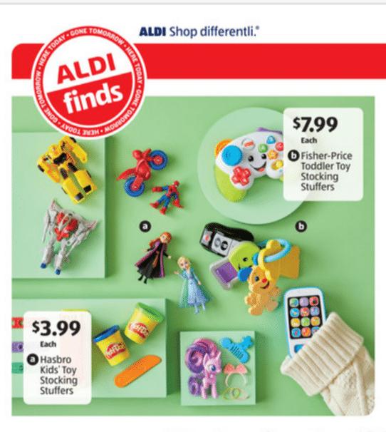 Aldi stocking stuffers