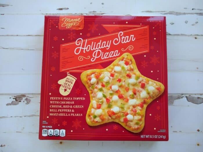 Mama Cozzi's Holiday Star Pizza
