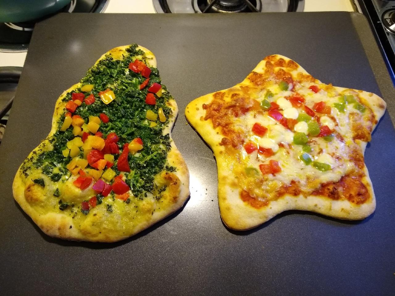 Mama Cozzi S Holiday Star Pizza Holiday Tree Pizza Aldi Reviewer