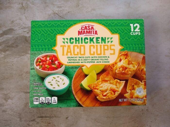 Casa Mamita Chicken Taco Cups