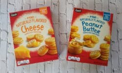 Savoritz Mini Cheese and Peanut Butter Sandwich Crackers