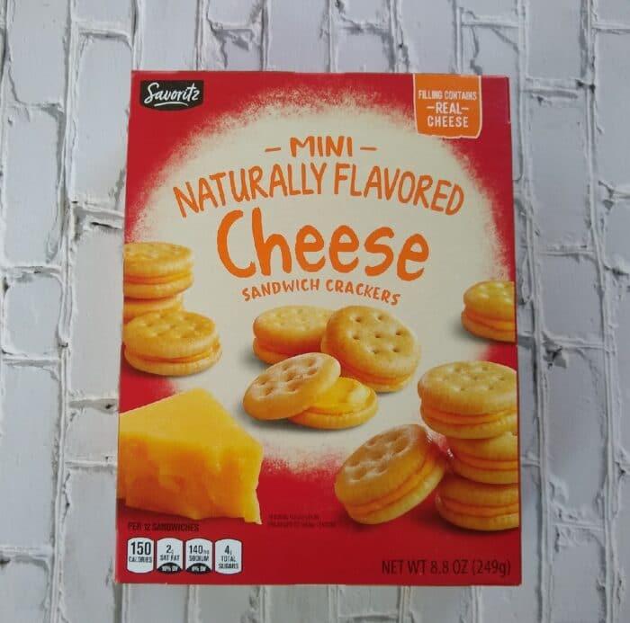 Savoritz Cheese Sandwich Crackers