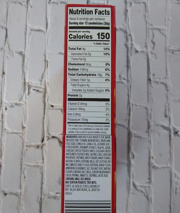 Savoritz Cheese Crackers
