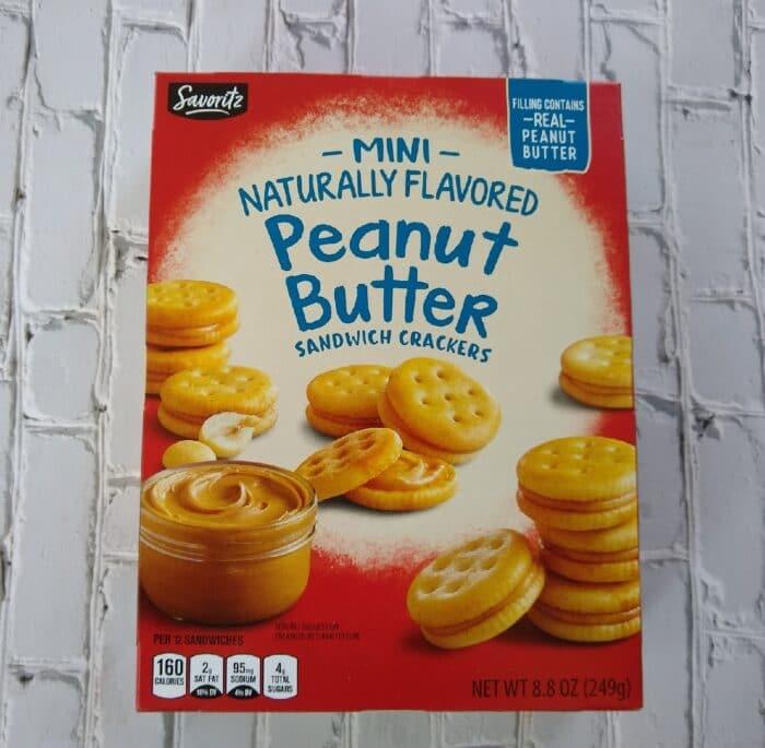 Savoritz Peanut Butter Crackers