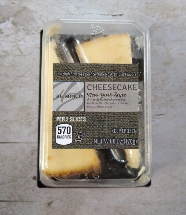 Belmont New York Style Cheesecake