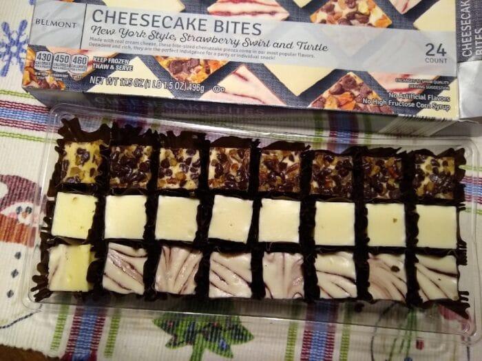 Belmont Cheesecake Bites