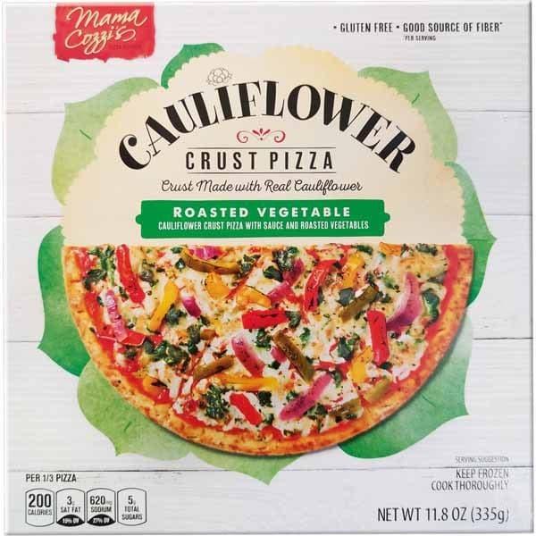 Mama Cozzi's Pizza Kitchen Roasted Vegetable Cauliflower Crust Pizza