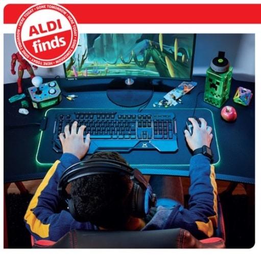 Medion Gaming Headset + Keyboard + Mouse