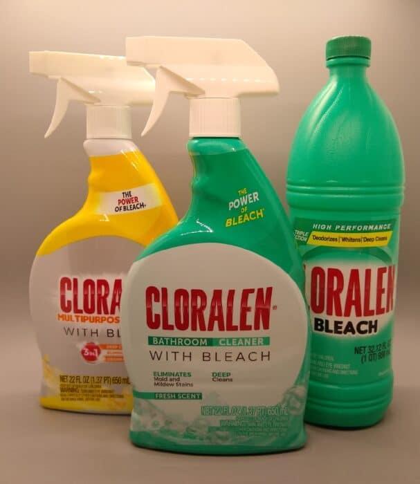 Cloralen Cleaner with Bleach