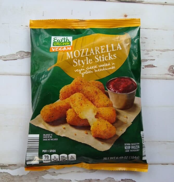 Earth Grown Vegan Mozzarella Style Sticks
