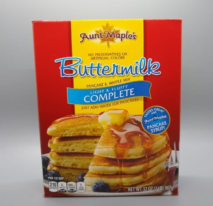 Aunt Maple's Buttermilk Pancake and Waffle Mix