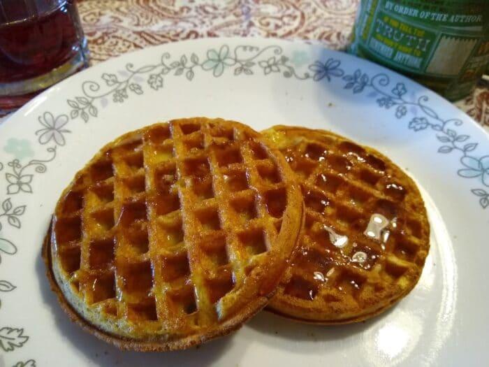 Breakfast Best Protein Buttermilk and Vanilla Waffles