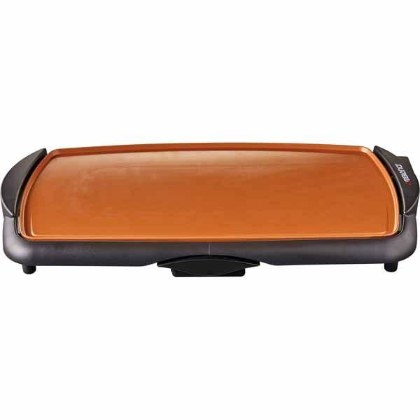 """Ambiano Ceramic Copper Titanium 10.5"""" x 20"""" Griddle"""