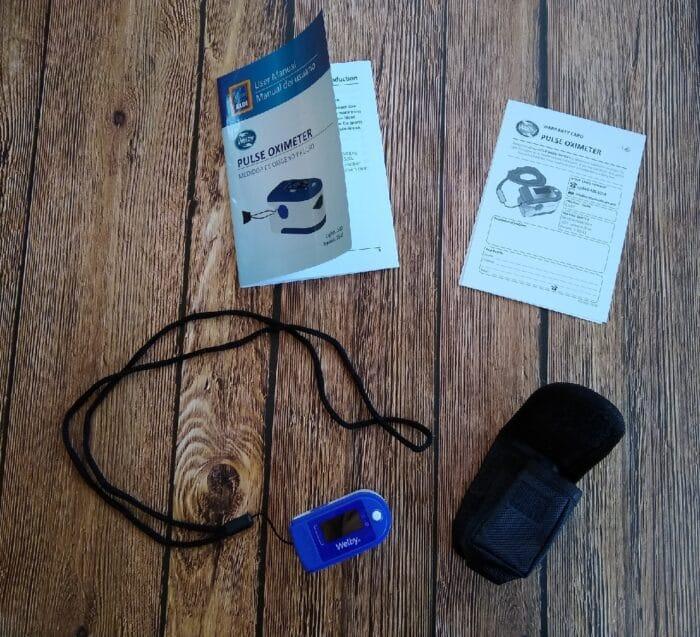 Welby Pulse Oximeter