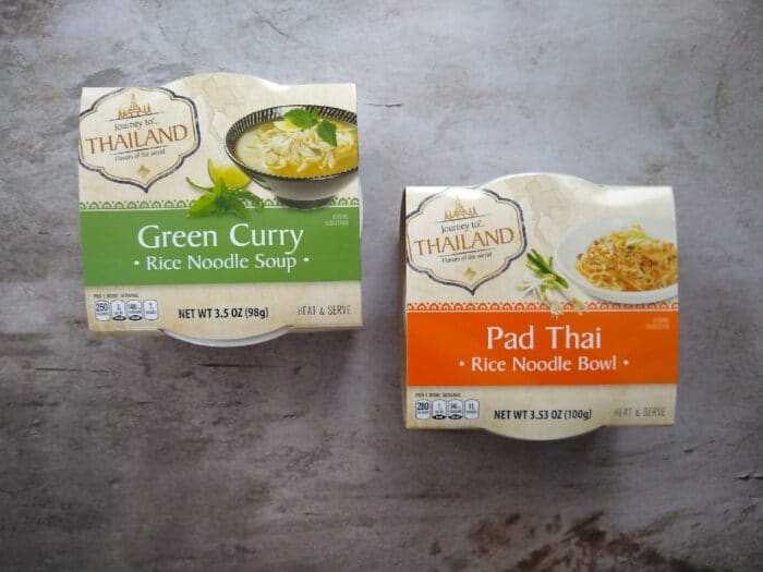 Journey to Thailand Pad Thai and Green Curry