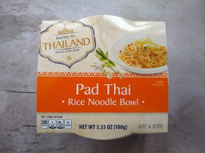 Journey to Thailand Pad Thai Rice Noodle Bowl