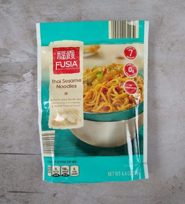 Fusia Asian Inspirations Thai Sesame Noodles