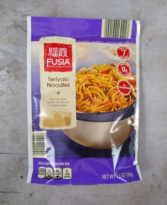 Fusia Asian Inspirations Teriyaki Noodles