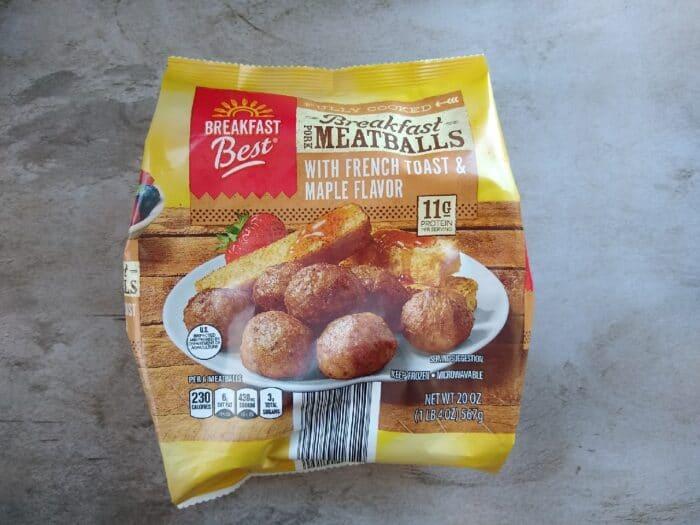 Breakfast Best Meatballs