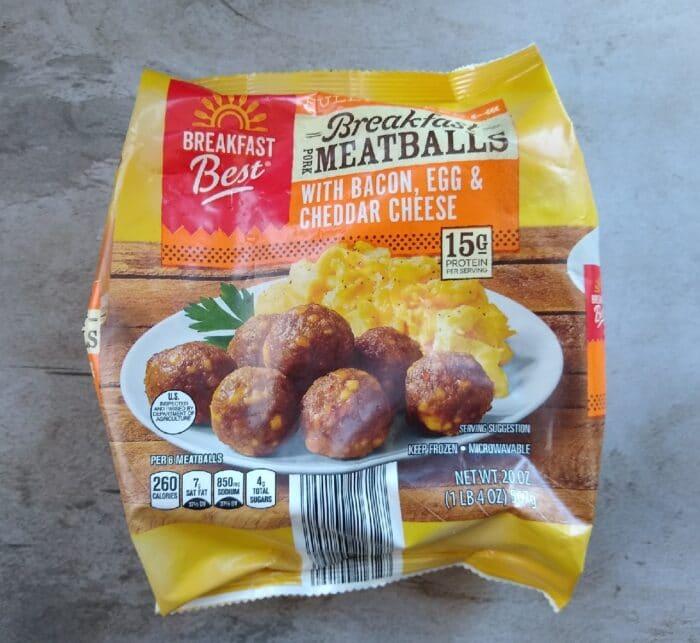 Breakfast Best Meatballsqq