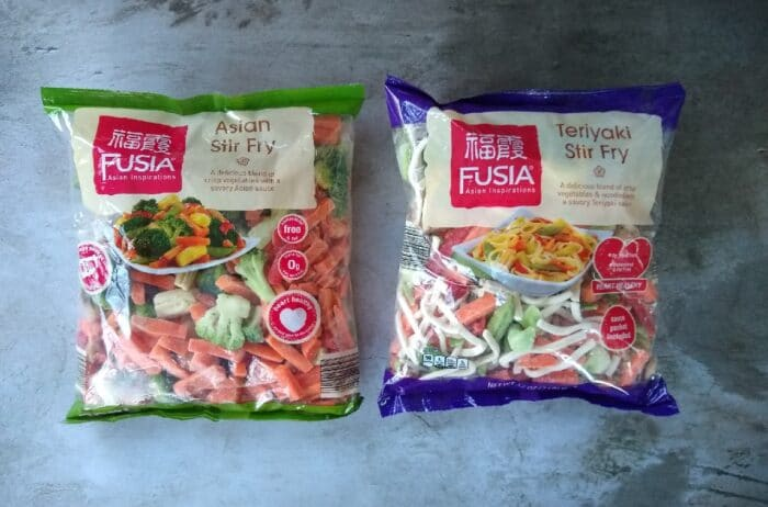 Fusia Teriyaki Stir Fry and Asian Stir Fry
