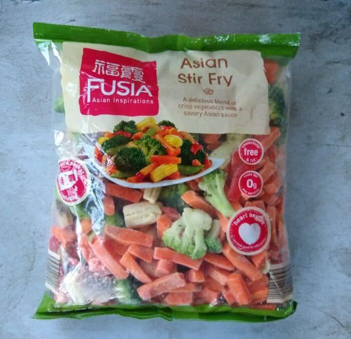 Fusia Asian Inspirations Asian Stir Fry