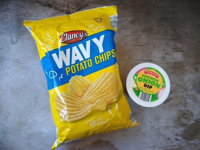 Aldi Chips and Dip