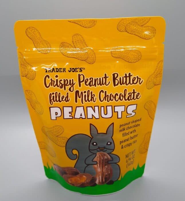 Trader Joe's Crispy Peanut Butter Filled Milk Chocolate Peanuts